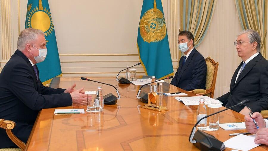 Касым-Жомарт Токаев и Станислав Зась обсудили перспективы развития ОДКБ    informburo.kz